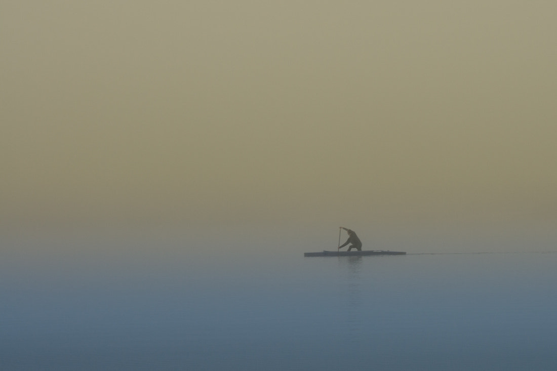 Photograph Canoe in the mist by Mindaugas Macaitis on 500px