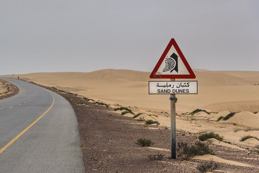 Sand Dunes Sign