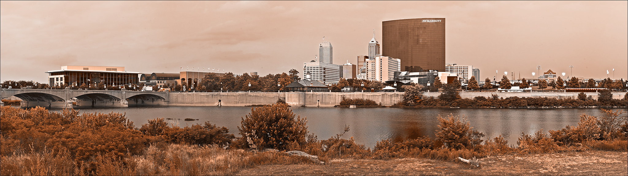 Photograph Indianapolis Skyline by Kevin Coppock on 500px