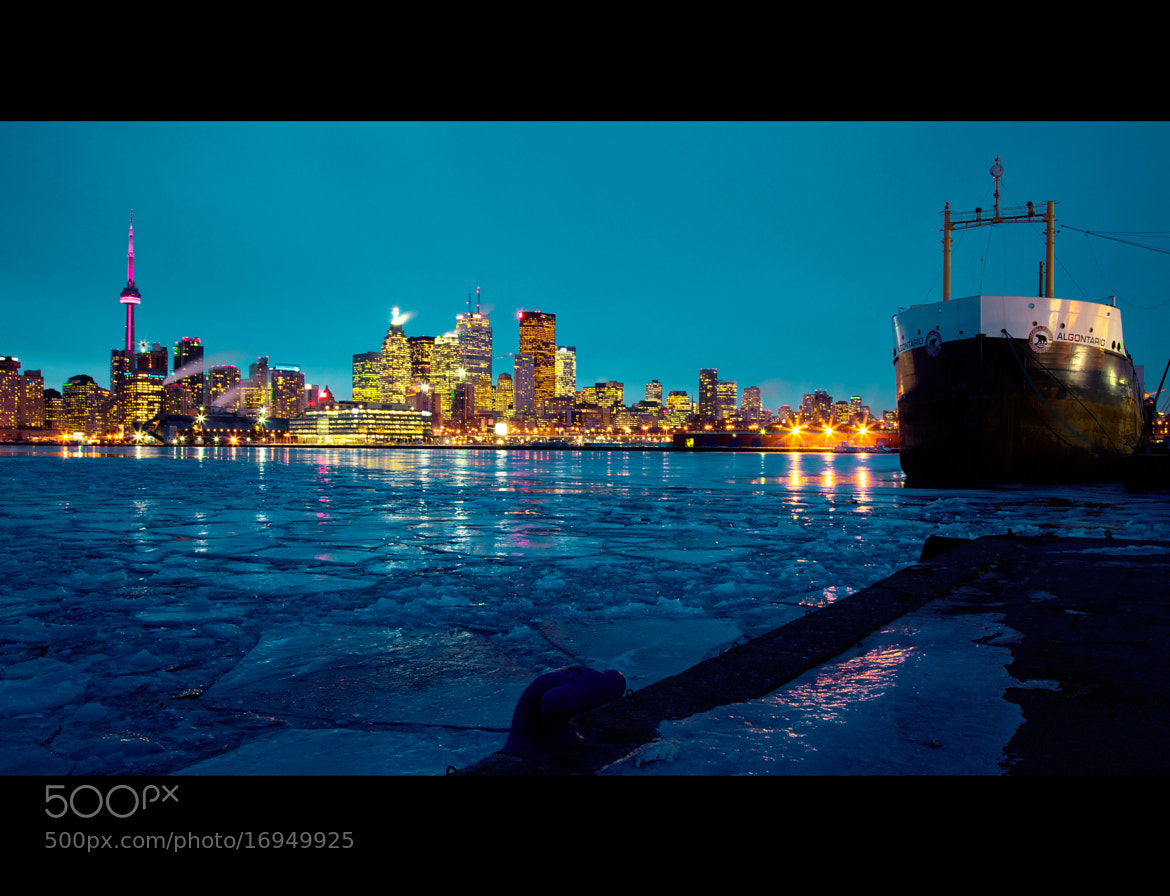 Photograph  A cold night in Toronto by Roland Shainidze on 500px