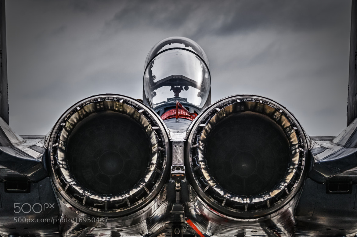 Photograph Strike Eagle at rest by Chris Buff on 500px