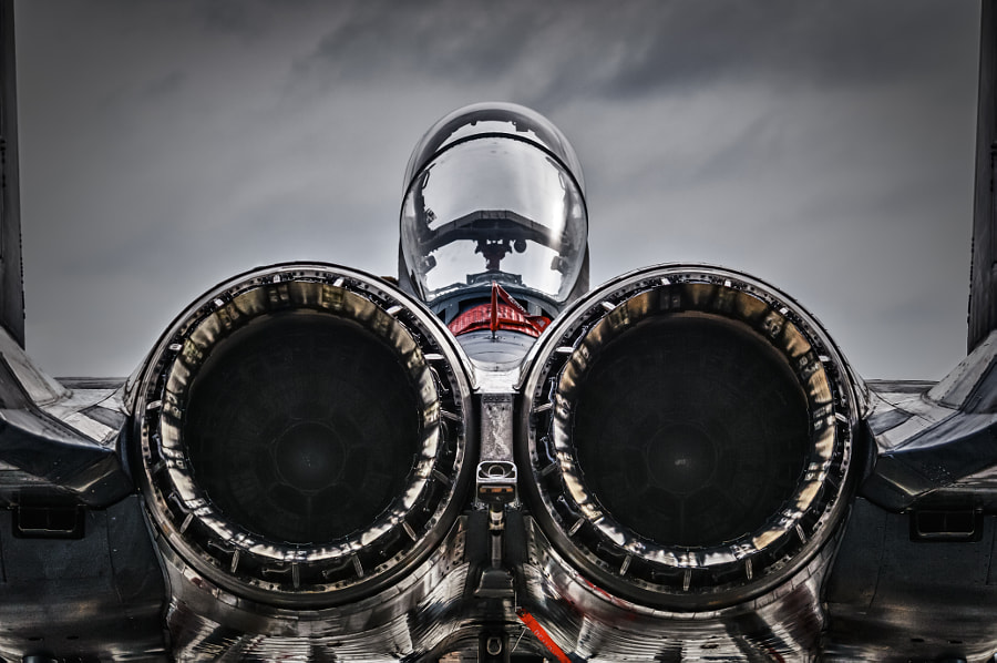 Strike Eagle at rest by Chris Buff on 500px.com