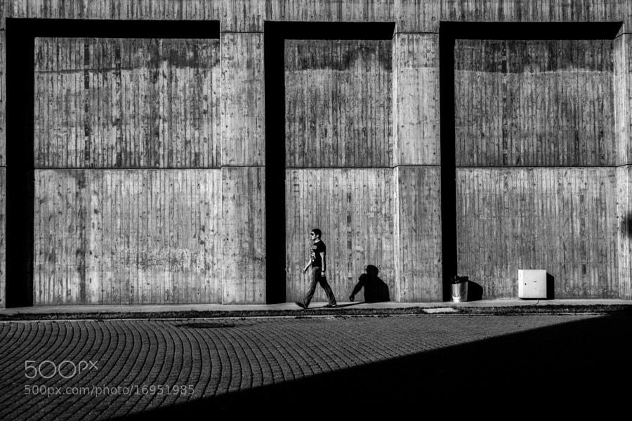 A Man in shadows