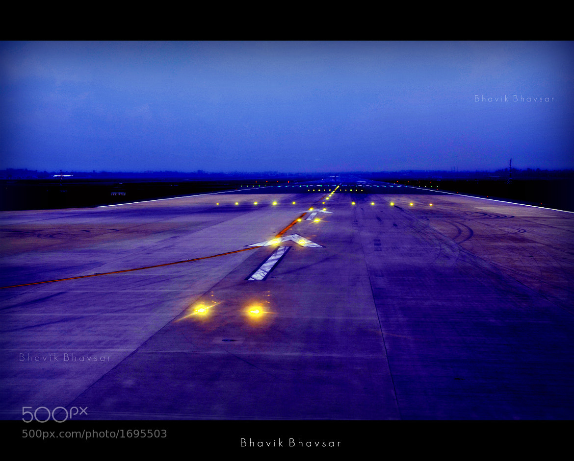 Photograph The Runway by Bhavik Bhavsar on 500px