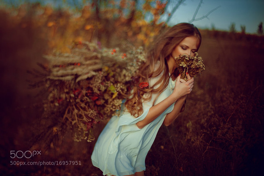 Photograph Autumn fairy by ViCOOLya & SAIDA on 500px