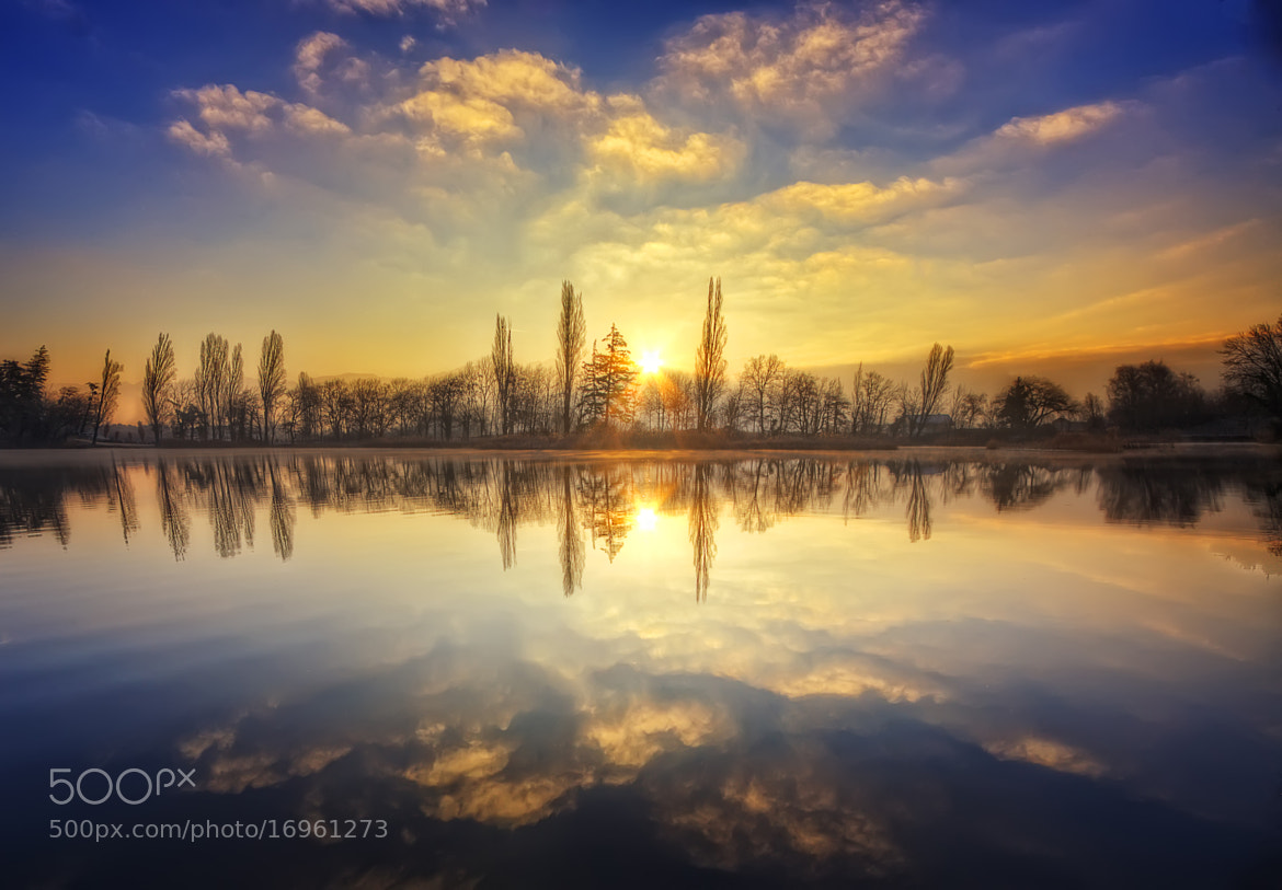 Photograph A winter sunrise by Girolamo Cracchiolo on 500px