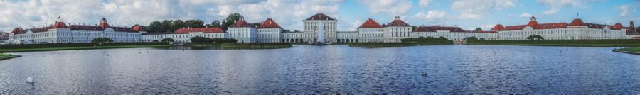 Nymphenburg Palace, a panorama