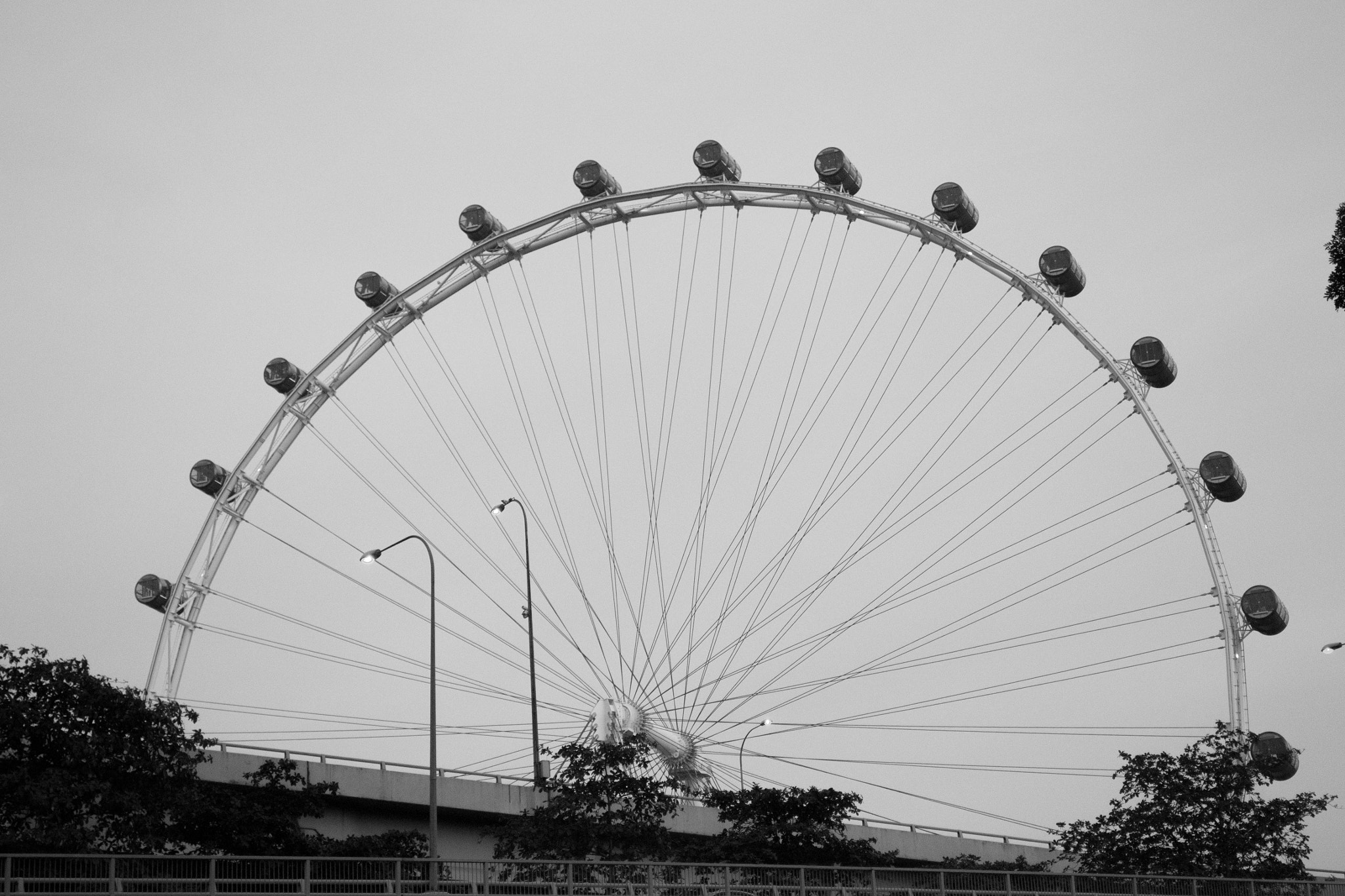 Photograph Singapore Flyer by Dinesh Vadivel on 500px