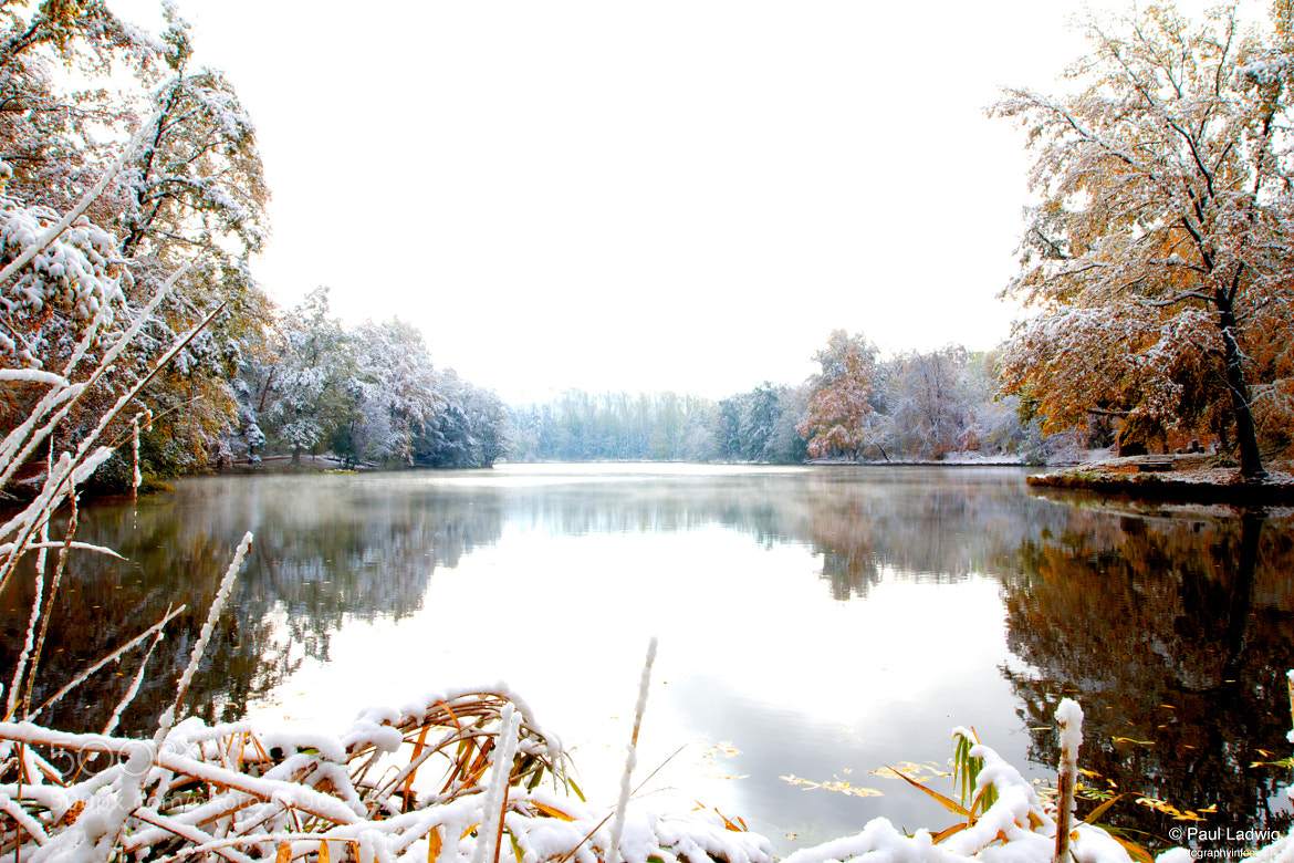 Photograph Lake in Winter IV by Paul Ladwig on 500px