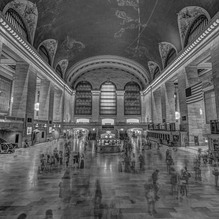 Grand Central Terminal, Pentax K-3, Sigma 10-20mm F3.5 EX DC HSM