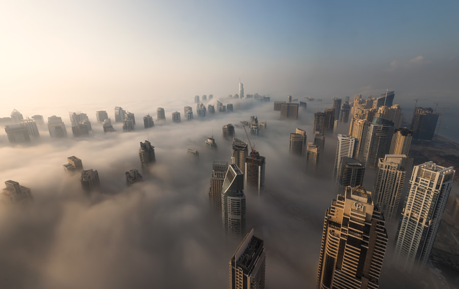A city awakens by Dany Eid on 500px.com