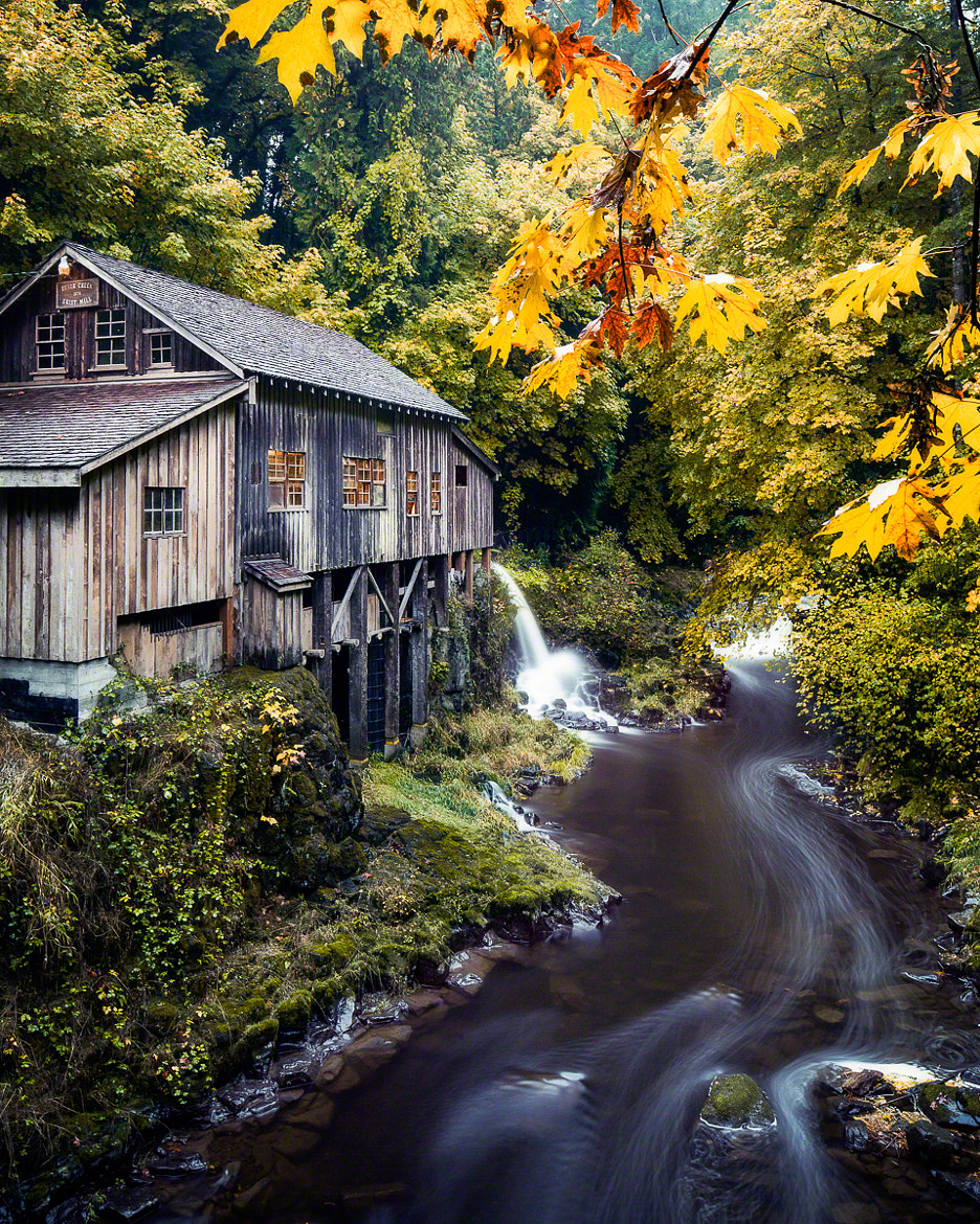 Photograph Cedar Creek Grist Mill by Nicole S. Young on 500px