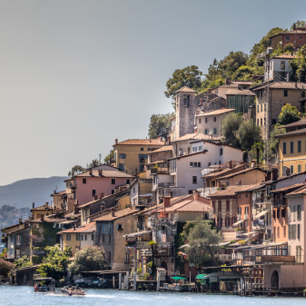 Lugano lake gandria