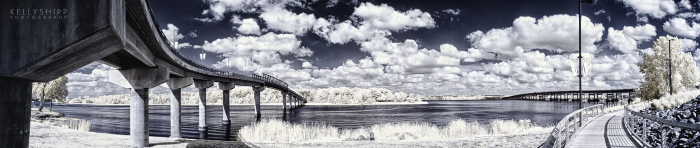 Photograph Panorama of Bridges by Kelly Shipp on 500px