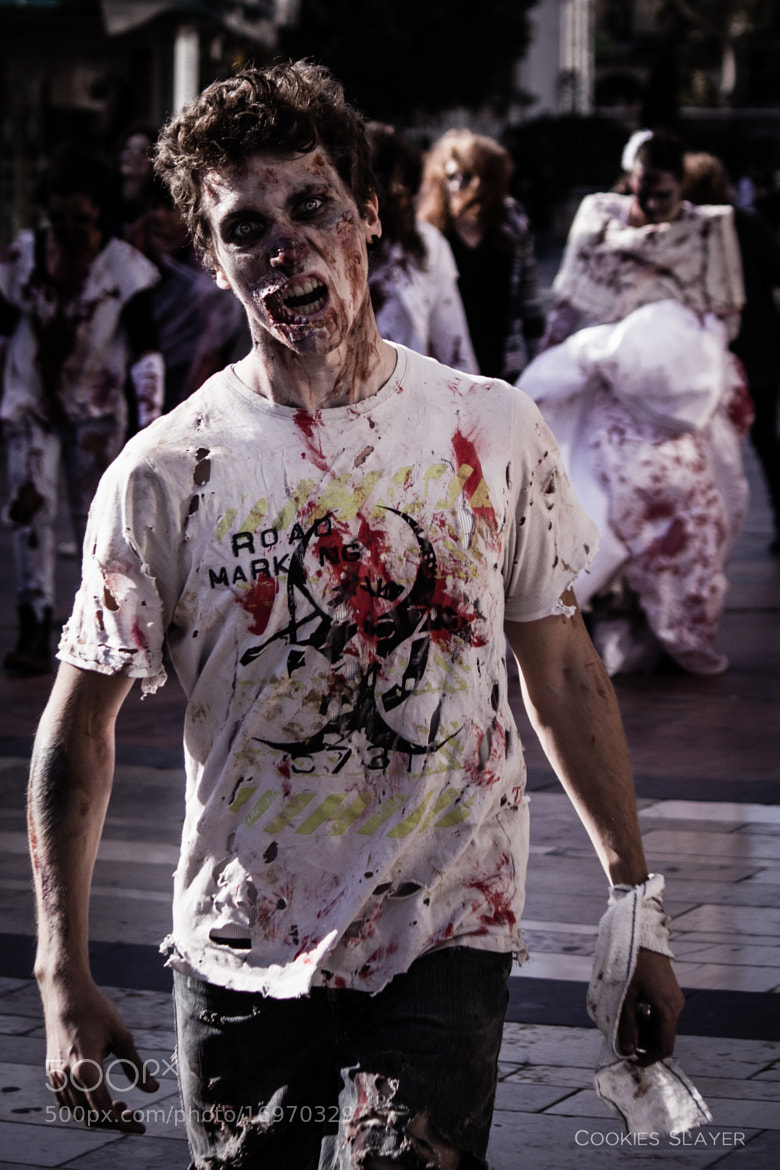 Photograph Zombie Day Montpellier 2012 by Thibault Casano on 500px
