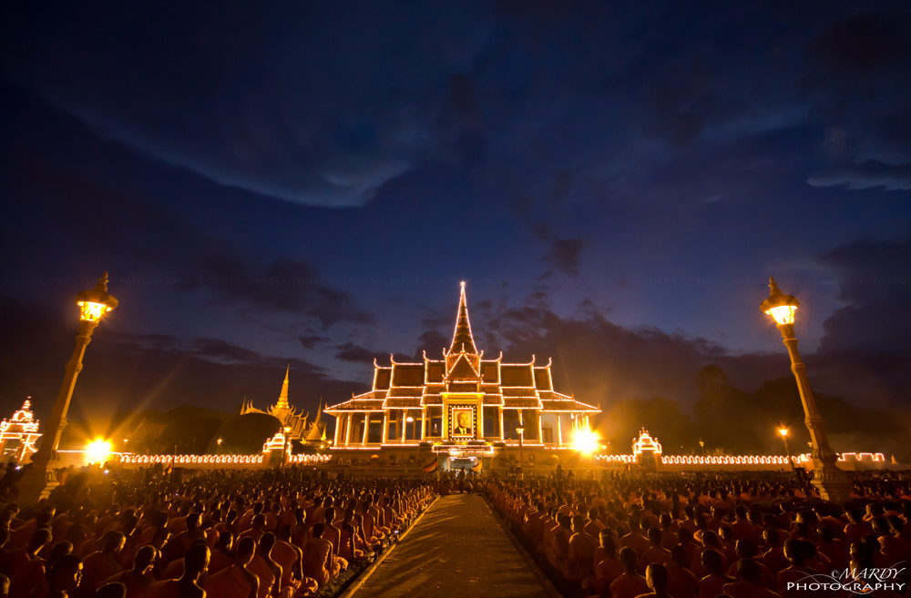 Photograph 10,000 Monks At The Awsome Night! by Mardy Suong Photography on 500px