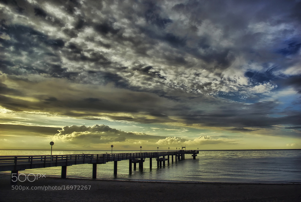 Photograph Sea-Bridge Rerik by Kersten Studenski on 500px