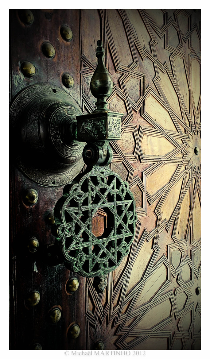 Photograph Door from Mosque by Michaël MARTINHO on 500px