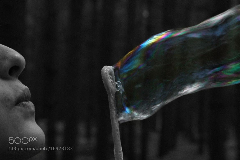 Photograph colourful bubble by Elliott Shah on 500px