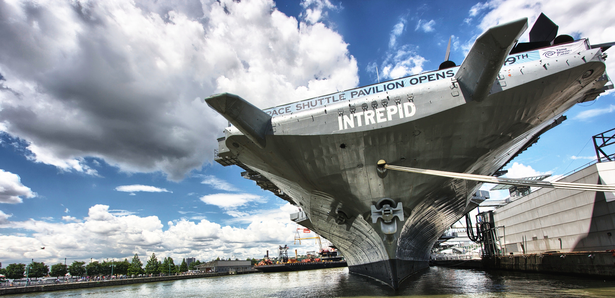 Photograph Intrepid with Pier 42 by Ruijie Zhou on 500px