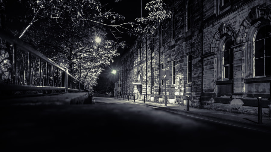 Old Factory Street Night by Lucas P Puch on 500px.com
