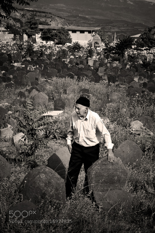 Photograph Old Man and Old Cemetery by Homa BahramParvar on 500px
