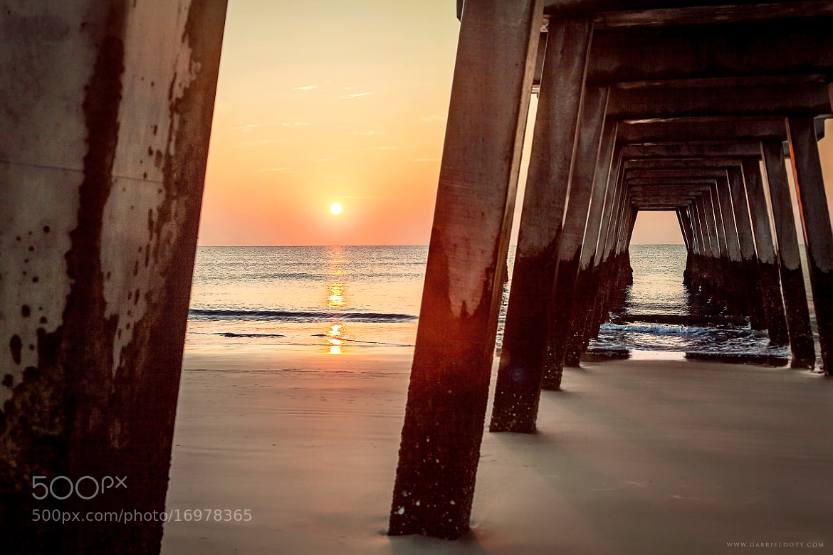 Photograph Sunrise At The Pier 2 by Gabriel Doty on 500px