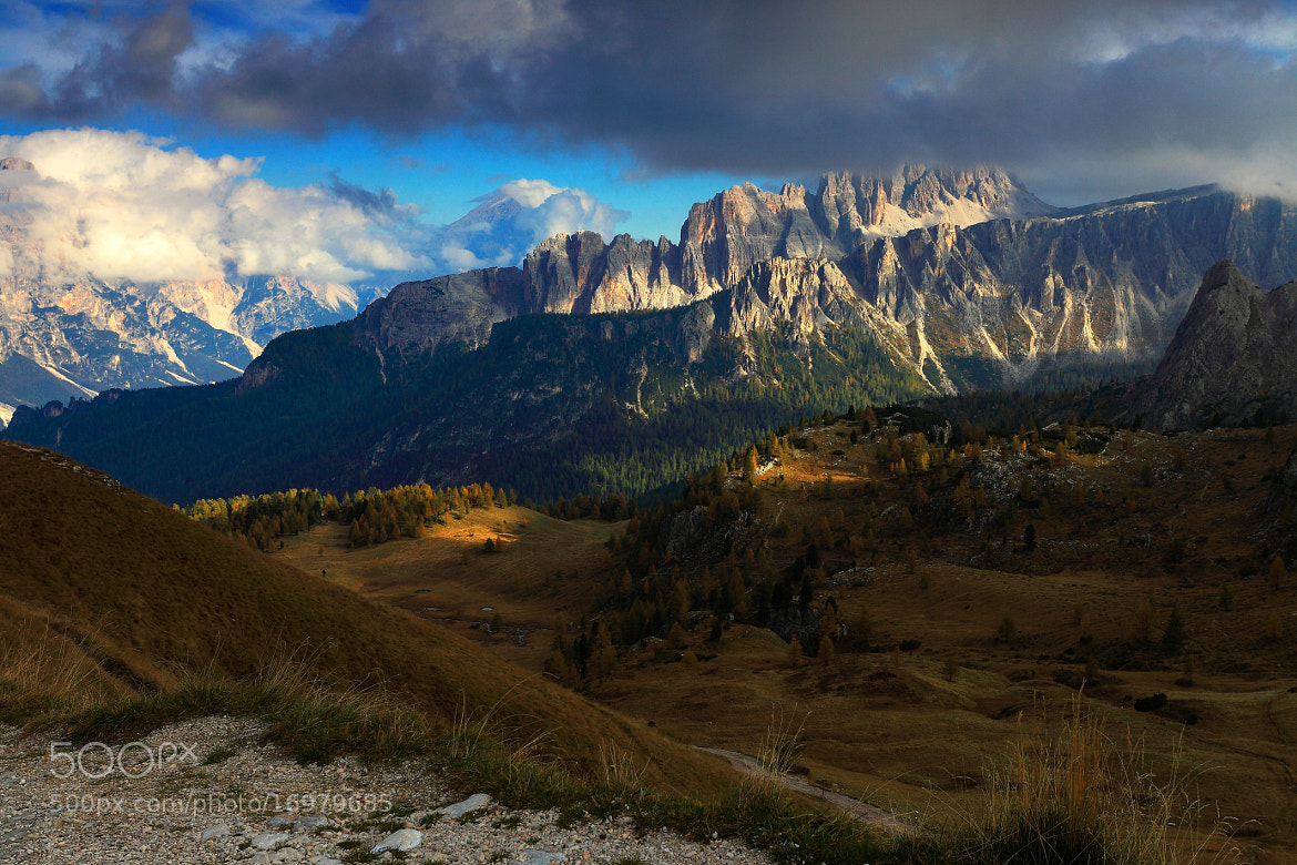 Photograph Dolomiten, Abend by Peter  Mahler on 500px
