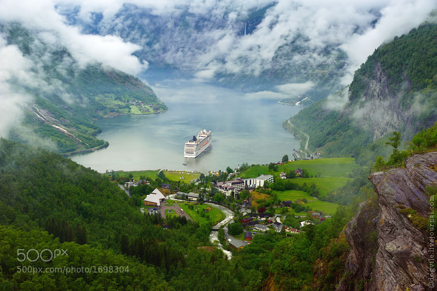 Photograph Fjord by Ghost Farm on 500px