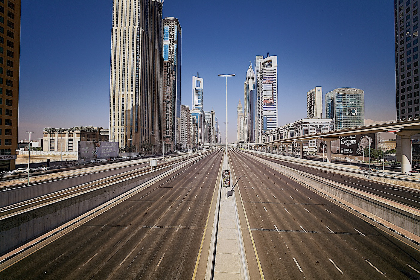 Photograph Sheikh Zayed Road-Dubai by Majid Behzad on 500px