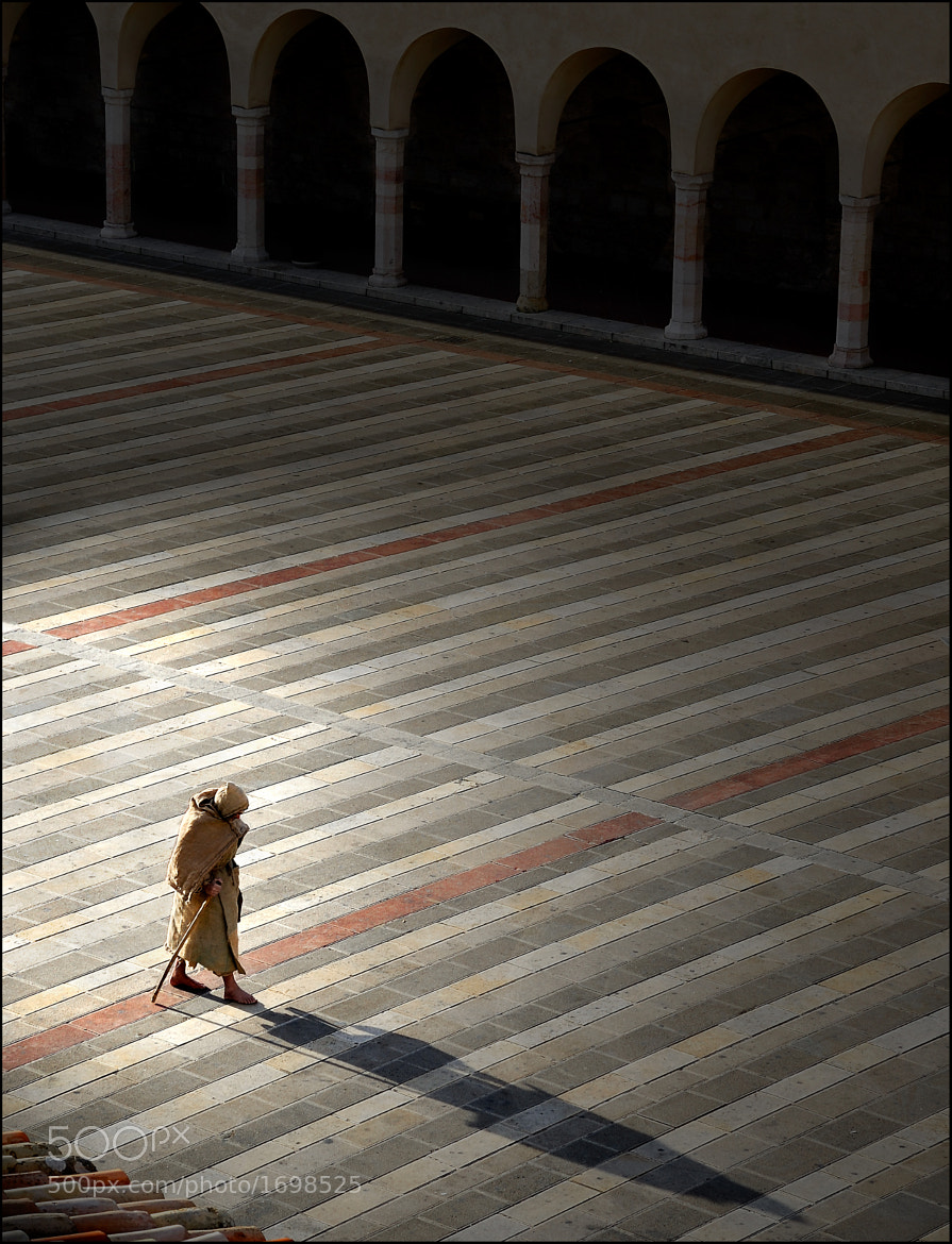 Photograph The pilgrim by Alessandro Ferretti on 500px