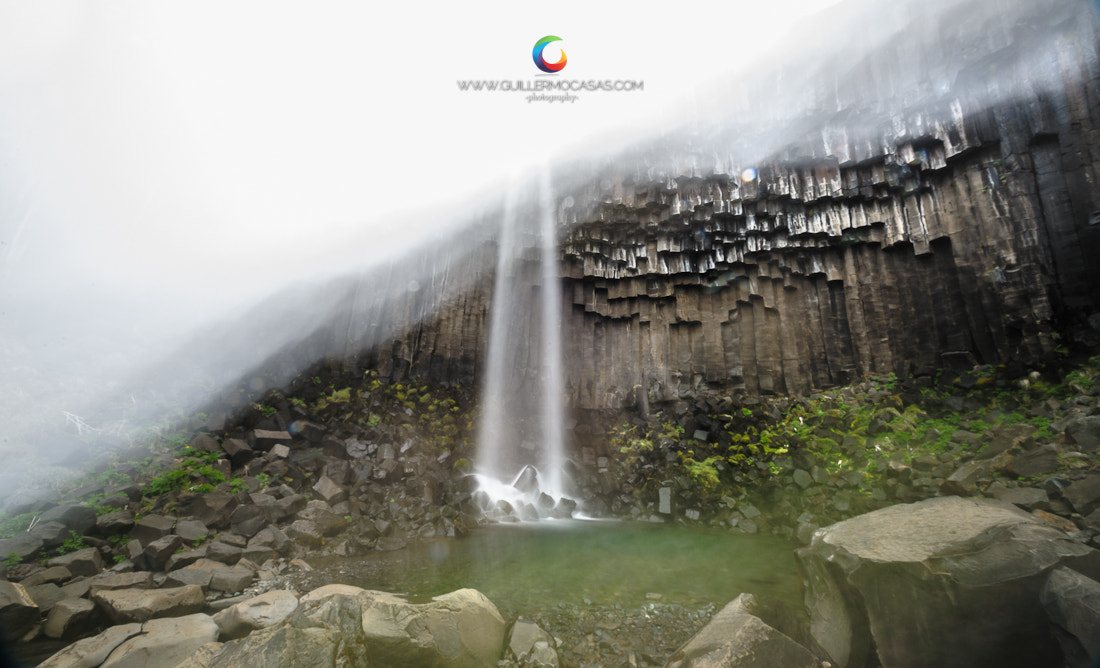 Photograph Svartifoss the crazy photo. Like or hate by Guillermo Casas on 500px