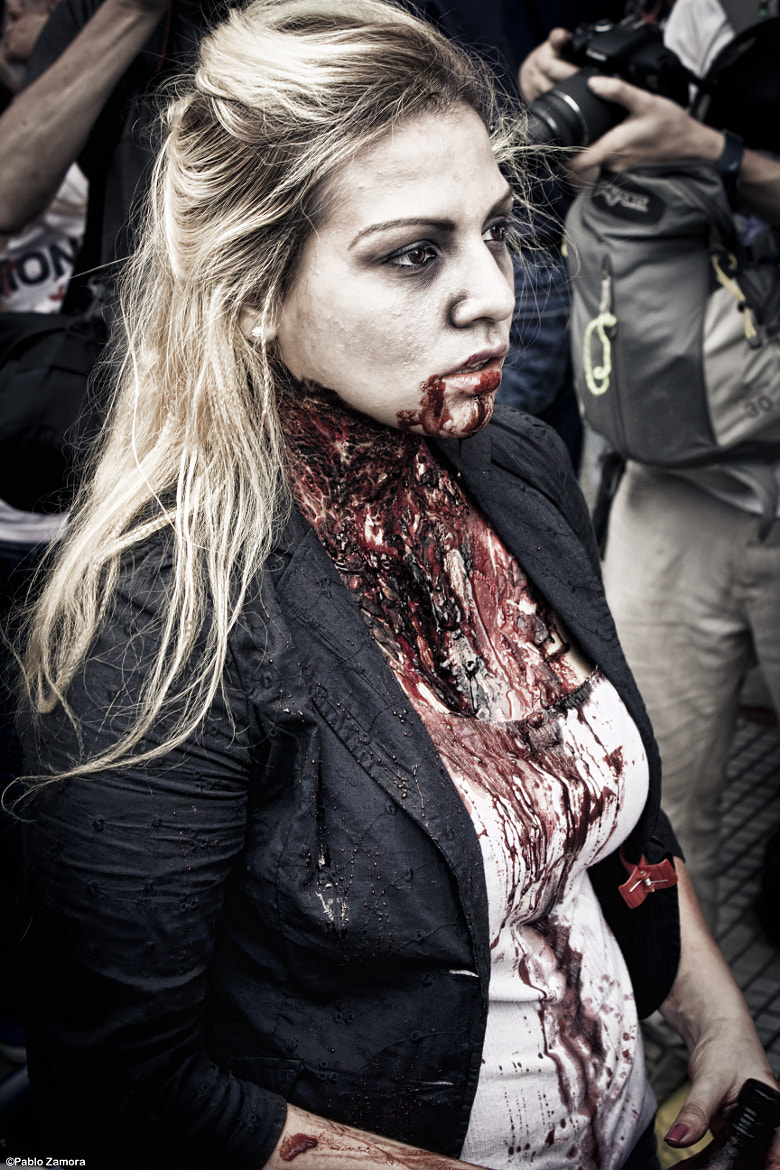 Photograph Zombie Girl by Pablo Zamora on 500px