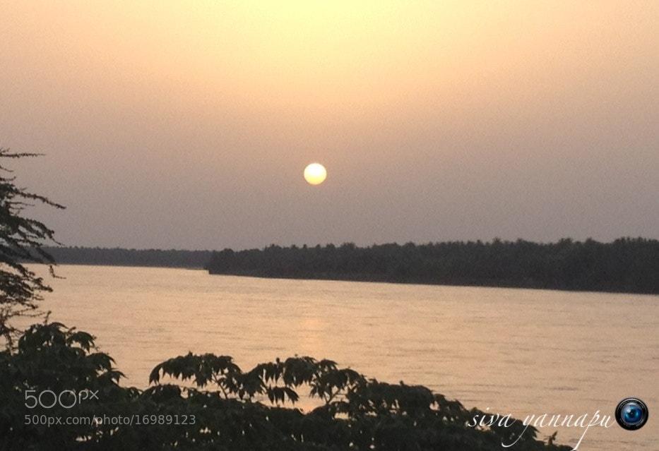 Photograph Godavari Sunset by Siva Fotografía on 500px