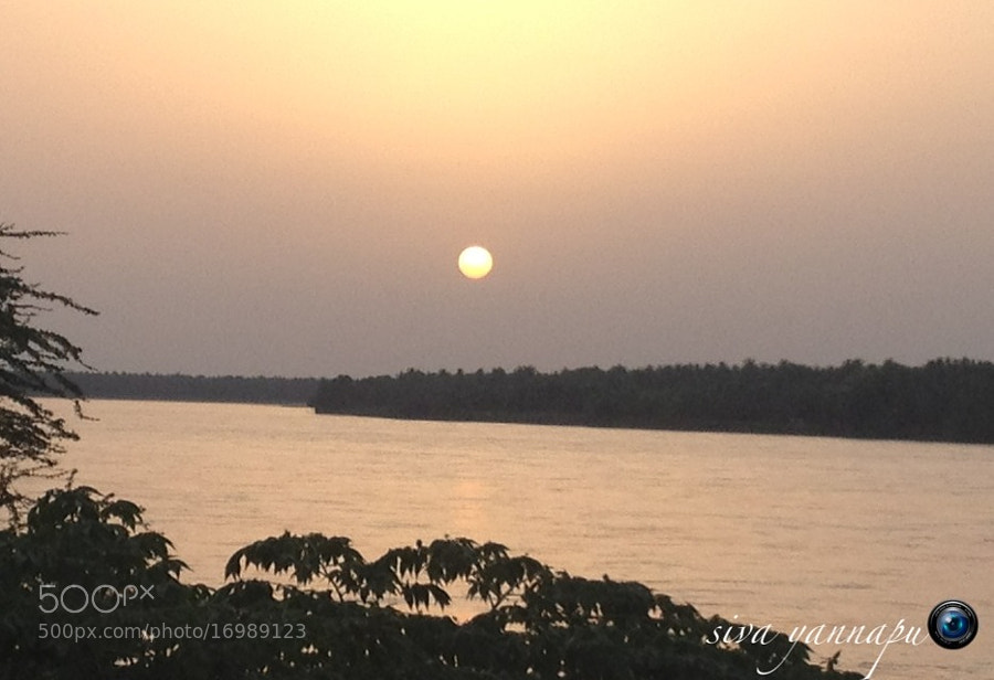 Photograph Godavari Sunset by Siva Fotografía on 500px