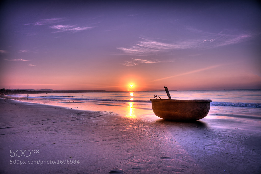 Photograph mui ne beach sunrise by mark burban on 500px