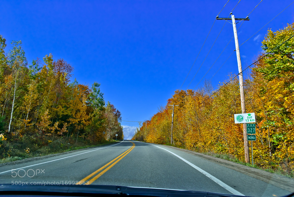 Photograph road of québec by nassar milad on 500px