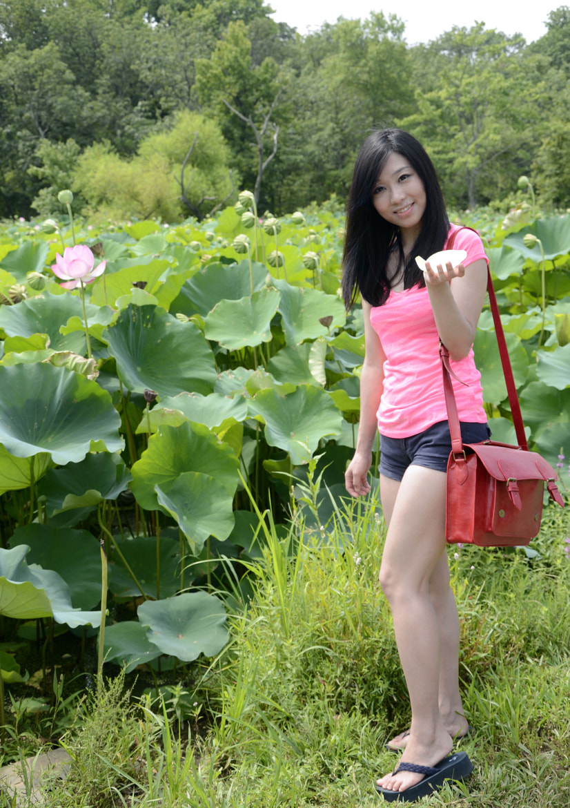 Photograph Lotus Girl I by Claire Hu on 500px