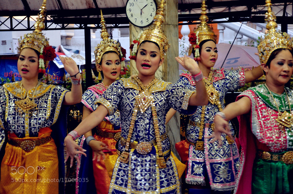 Photograph Thai Dance for blessing by Claire Hu on 500px