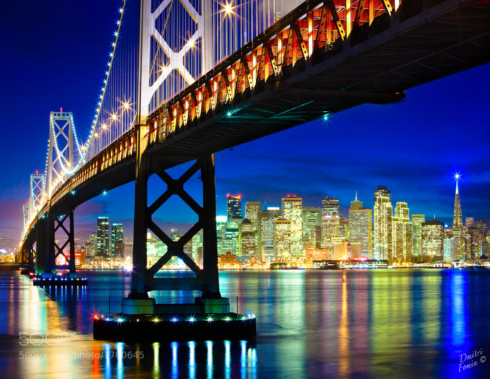 Photograph San Francisco holiday lights by Dmitri Fomin on 500px