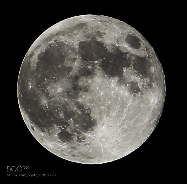 Photograph October Moon by Mayank M. on 500px