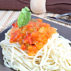 ������, ������: Spaghetti with tomatoes