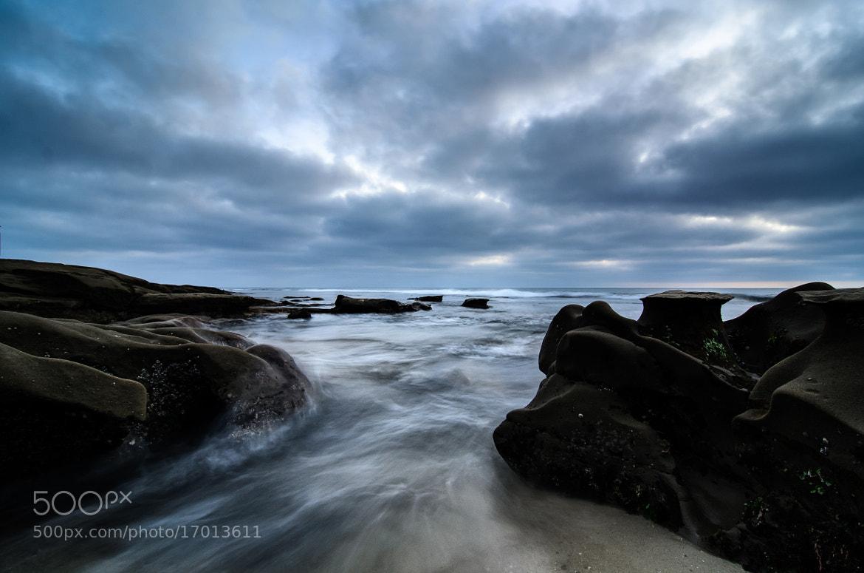 Photograph Rushing Tide by Jeffery Wang on 500px