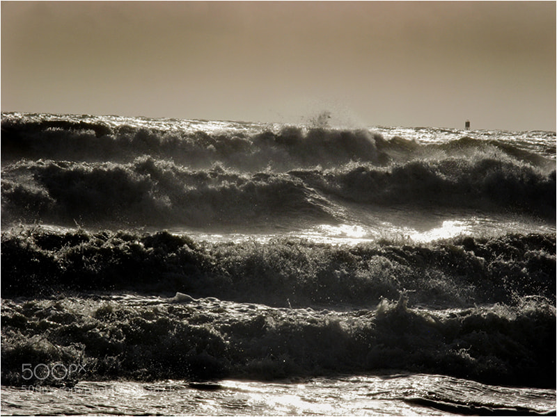 Photograph Dark Water _ Sea Storm by Mirza Ajanovic on 500px