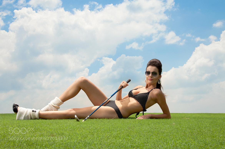 Photograph Golfer Woman by Jassi Oberai on 500px