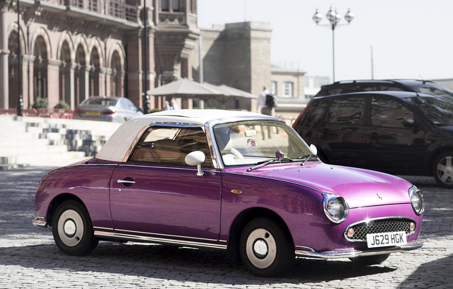 Sweet Little Purple Car