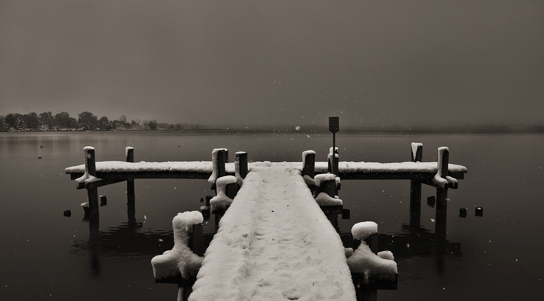 Photograph first snow by Sandra Löber on 500px