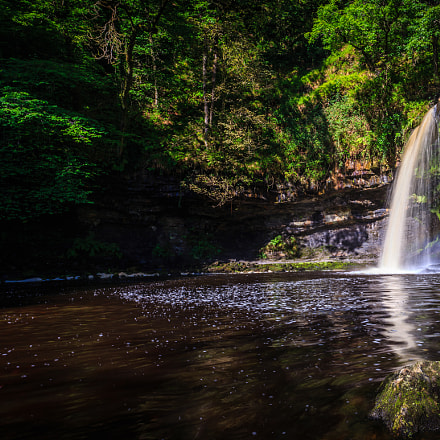 Waterfall country, Brecon Beacons National Park