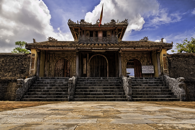 Photograph Thieu Tri Tomb Entrance by Michel Latendresse on 500px