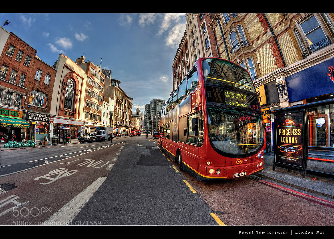 Photograph London Bus ... by Pawel Tomaszewicz on 500px